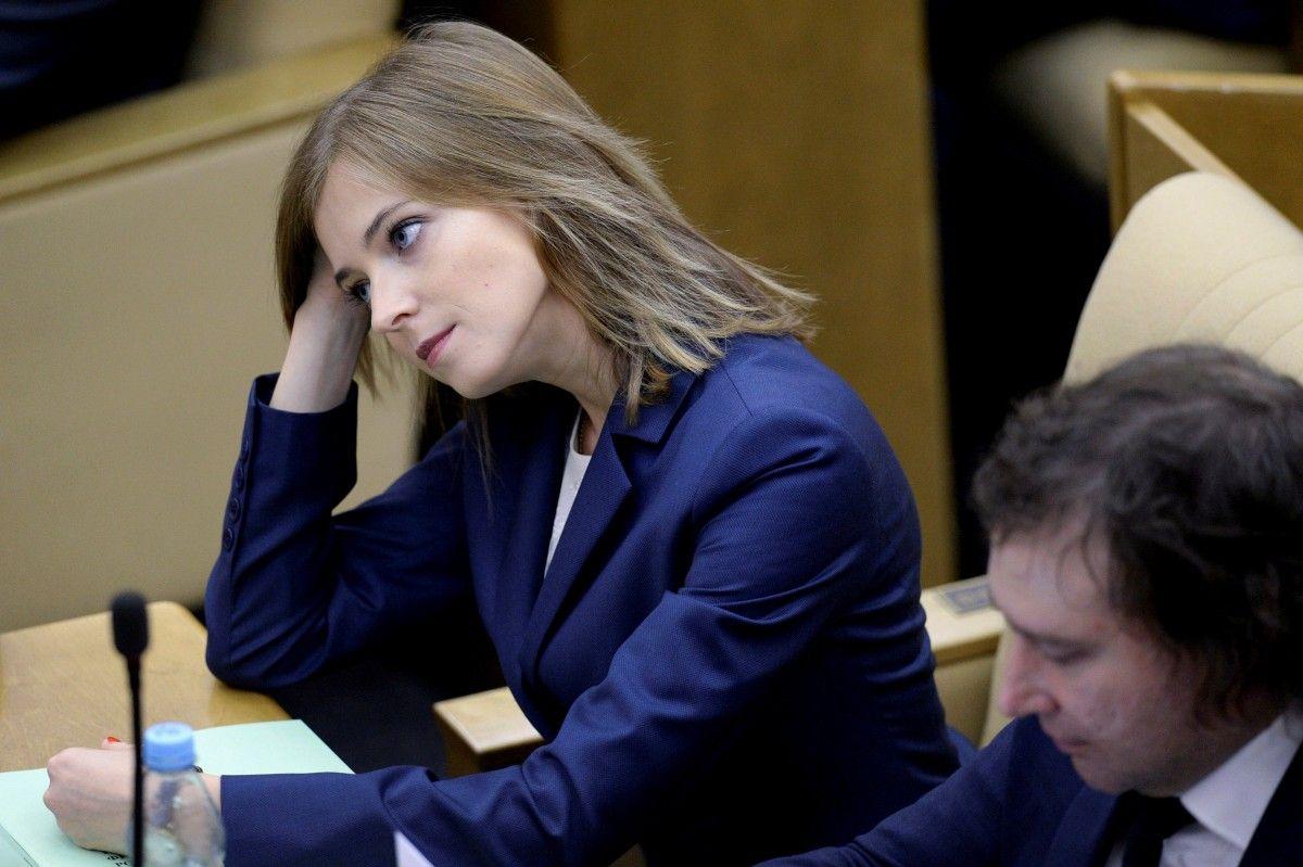 Поклонська перебуває під санкціями України, ЄС, США, Канади та Японії / фото -REUTERS
