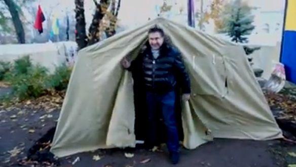 Саакашвили собирает вече под Верховной Радой на12:00