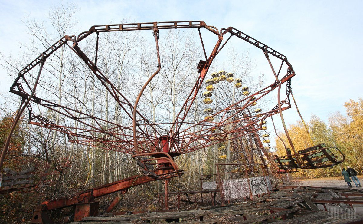 Парк аттракционов в Чернобыле / фото УНИАН