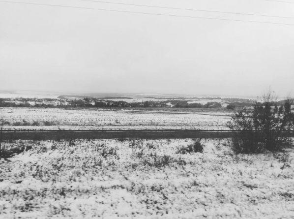 Снег в Харьковской области / фото instagram.com/stasenia