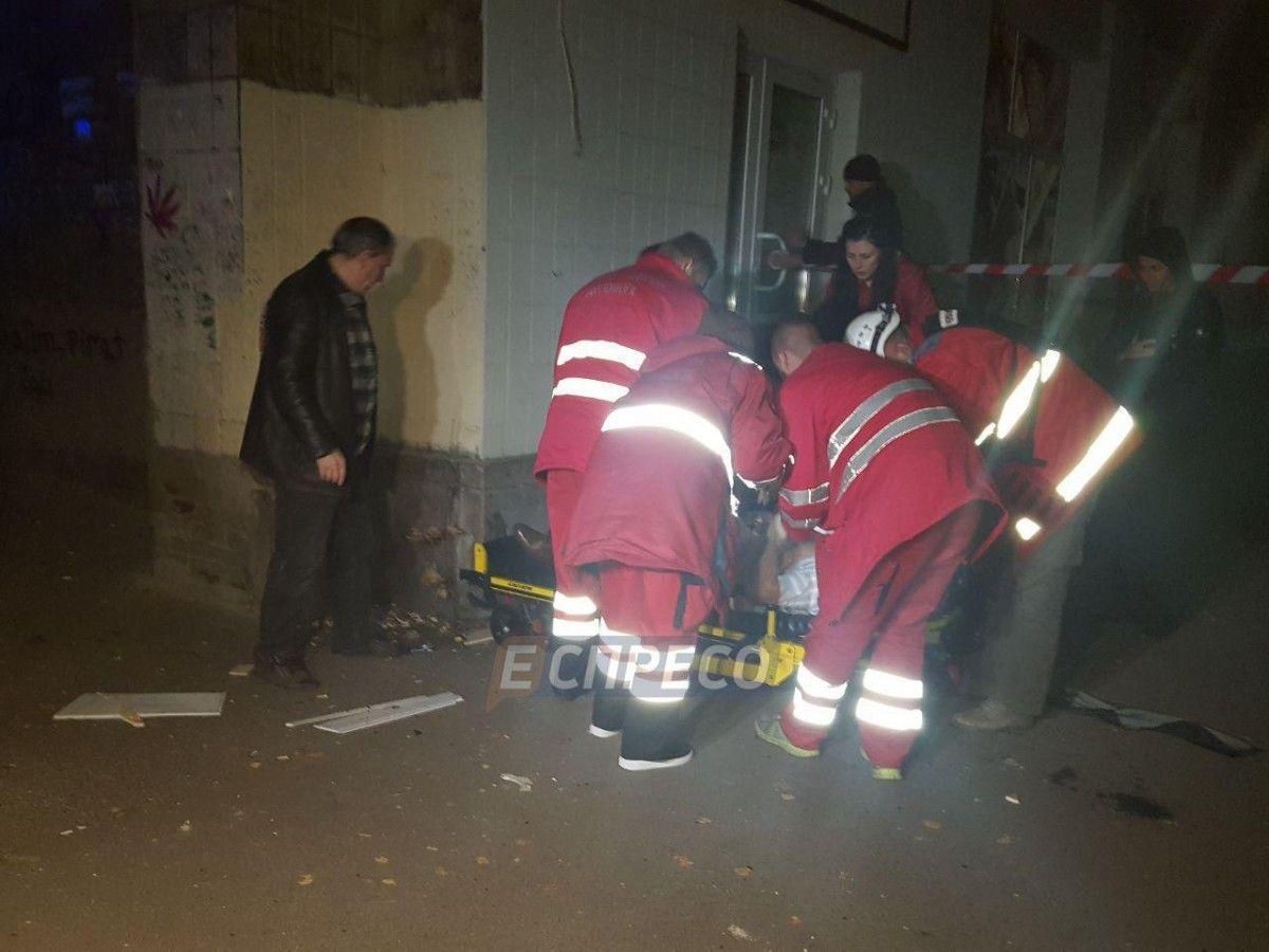 Взрыв вКиеве: охранник Мосийчука умер, народного депутата срочно оперируют