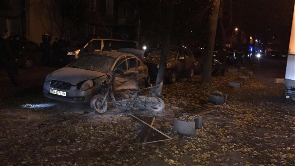 Все раненые были доставлены в больницу с повреждениями различной степени / фото Евгений Дейдей, Facebook