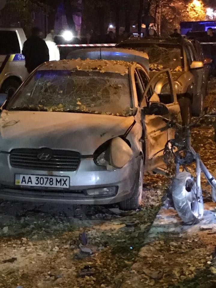 В результате взрыва погибли двое / Евгений Дейдей, Facebook