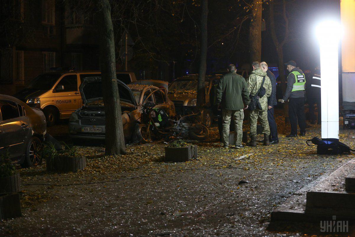 Поздно вечером 25 октября произошло покушение на нардепа Мосийчука / фото УНИАН