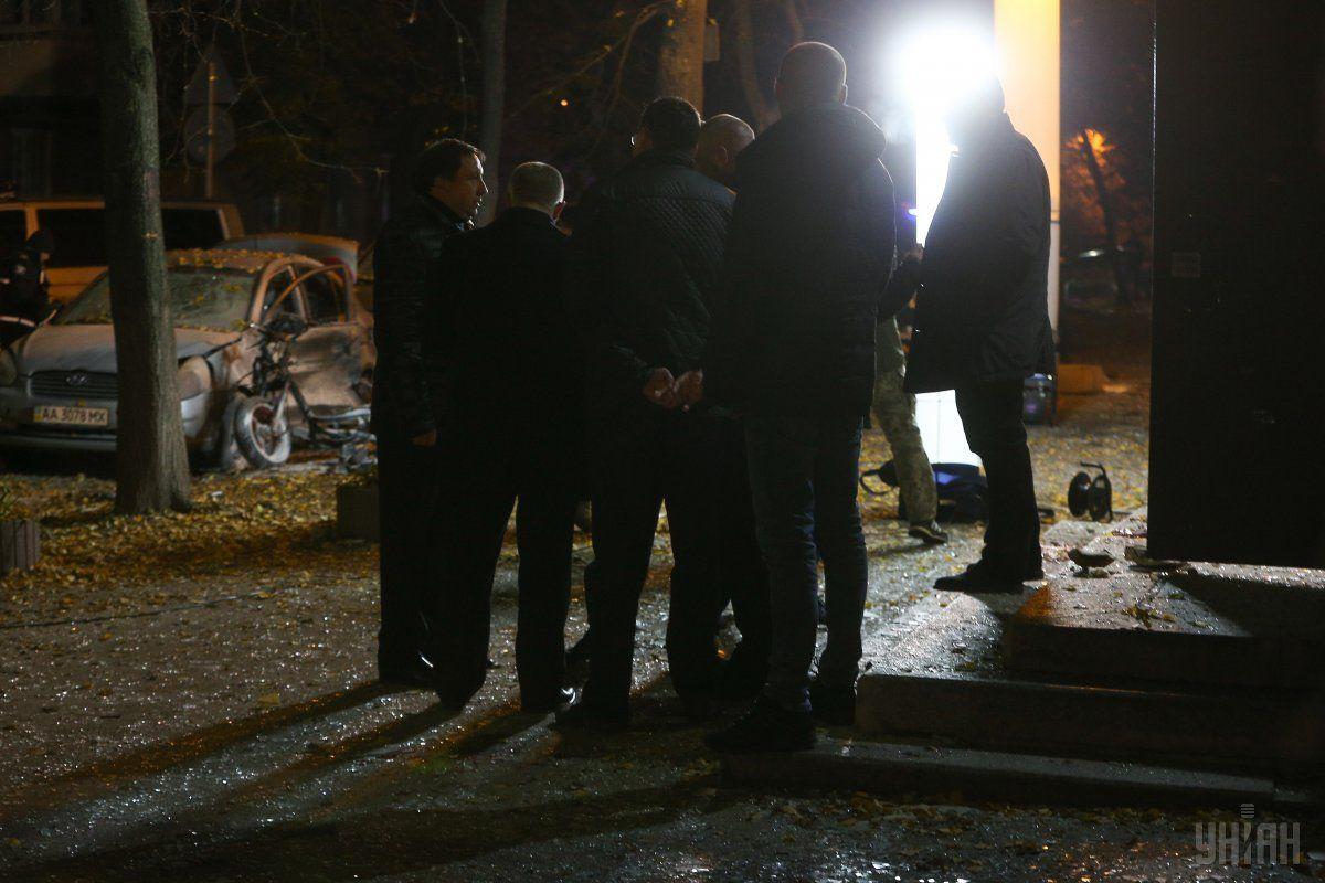 Неизвестные взорвали мопед вблизи места передвижения Мосийчук / фото УНИАН