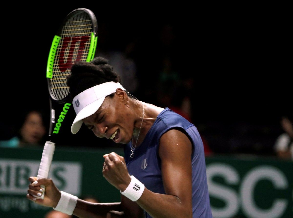 Уильямс сумела выйти в полуфинал Итогового турнира года / Reuters