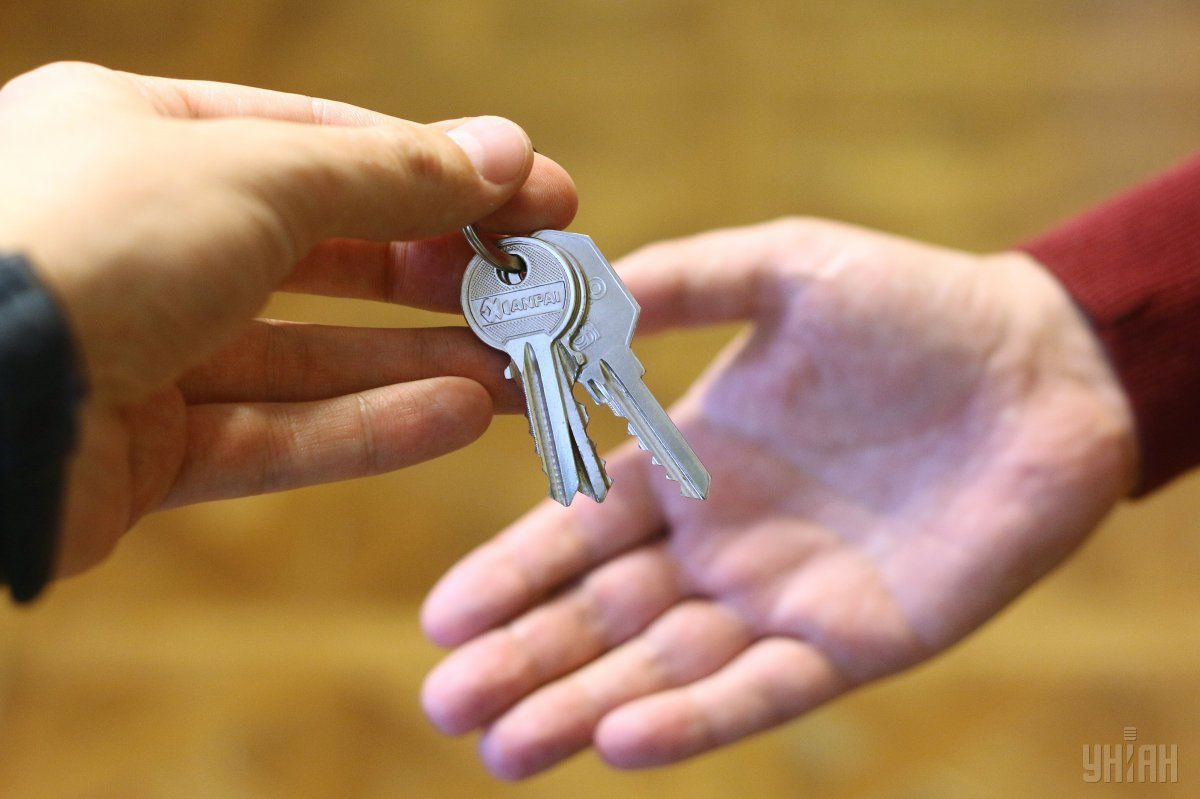 Сертификаты и ключи от новых квартир вручали одновременно во всех регионах Украины / фото - УНИАН