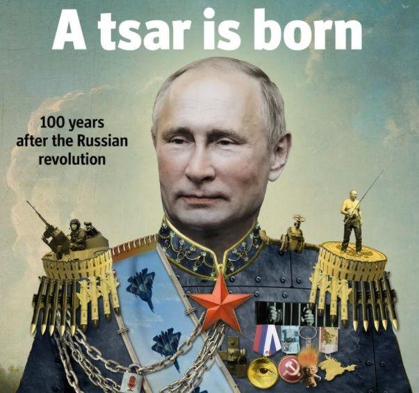 Путин на обложке The Economist / фото twitter.com/TheEconomist