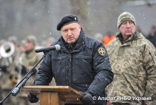 По словам Турчинова, это заказ было четко зафиксировано / фото rnbo.gov.ua