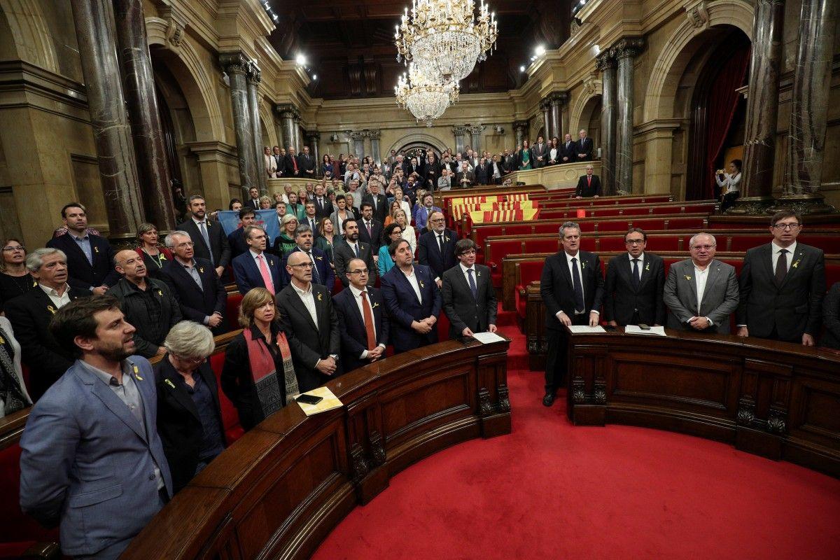 Лідер Каталонії здався бельгійській поліції
