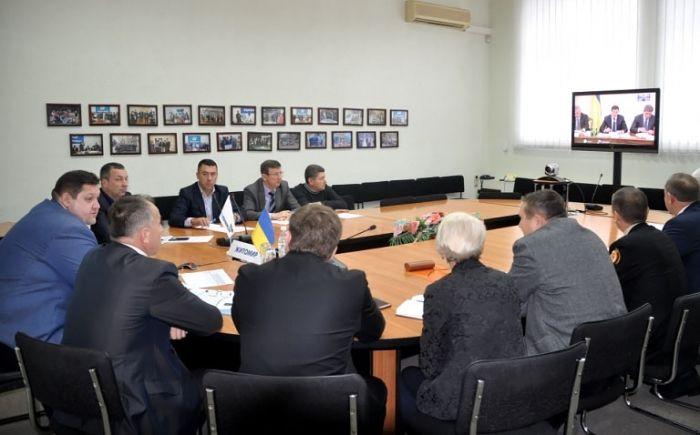 На совещании обсудили отопительный сезон / фото oda.zt.gov.ua