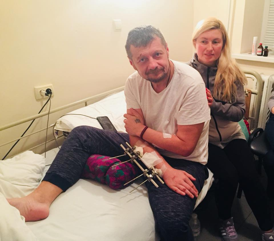 Мосийчук добавил фото из больницы / фото facebook.com/igor.mosijcuk