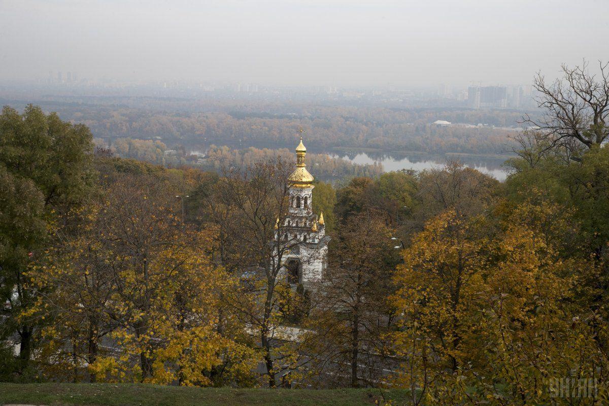 В Киеве сегодня будет пасмурно / фото УНИАН