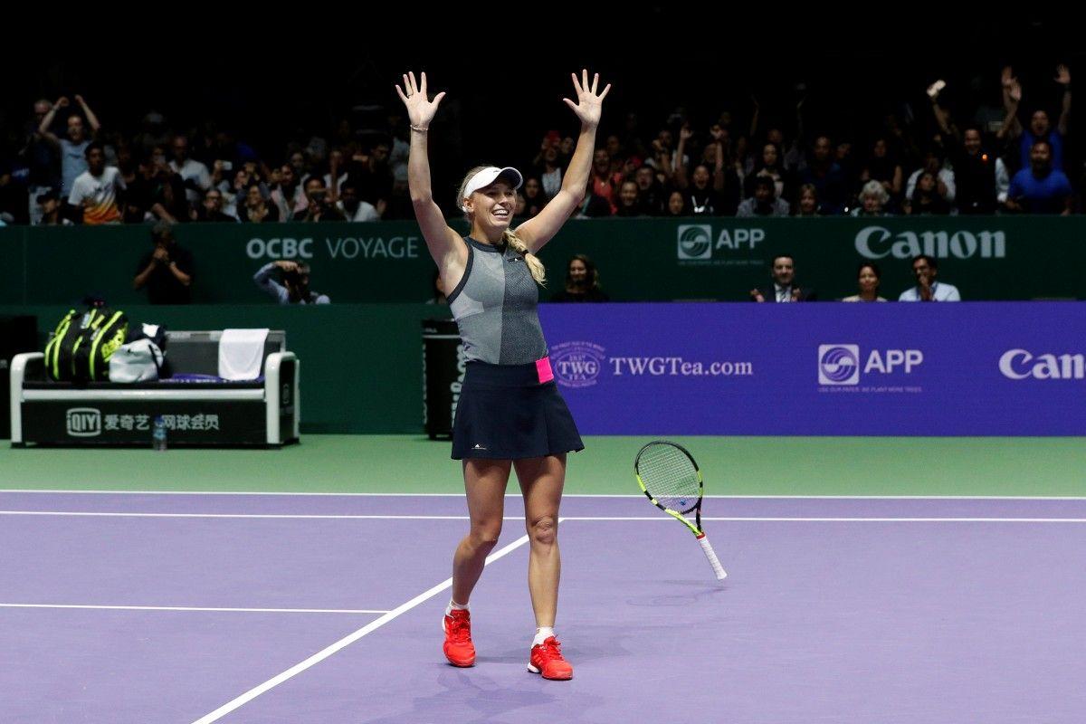 Каролин Возняцки выиграла Итоговый турнир / Reuters