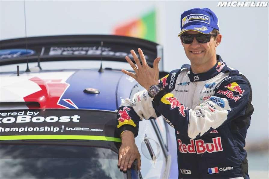 Себастьен Себастьен Ожье - пятикратный чемпион мира по авторалли / Twitter Michelin Motorsport