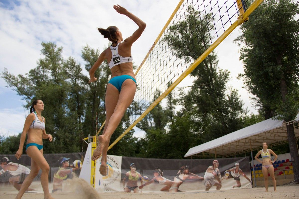 Пляжный волейбол  один из самых зрелищный и эстетичски красивых видов спорта / fvu.in.ua