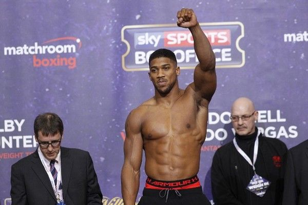 Ентоні Джошуа / boxingscene.com