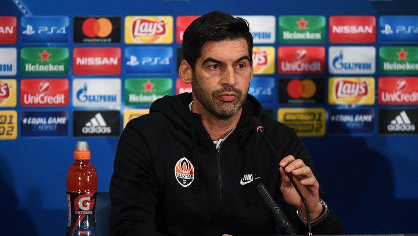 Фонсека ответит на вопросы СМИ за сутки до матча с Лионом / shakhtar.com