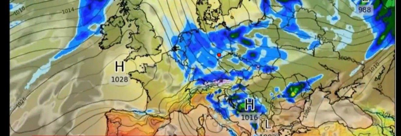 Украина готовится к разрушительной буре (видео)