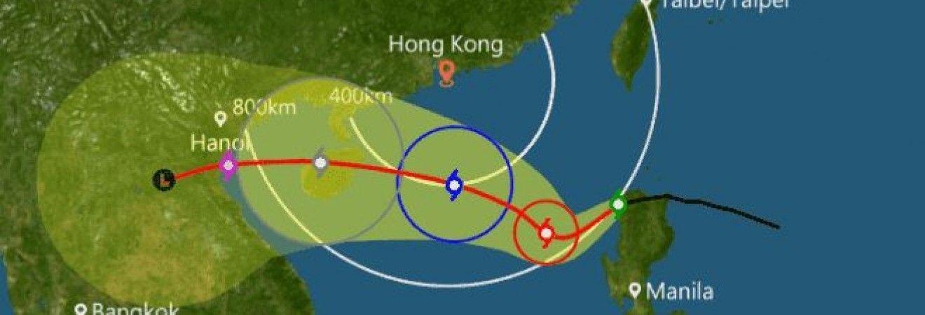 """Новий тропічний шторм """"Ханун"""" загрожує Філіппінам, Китаю і В'єтнаму"""