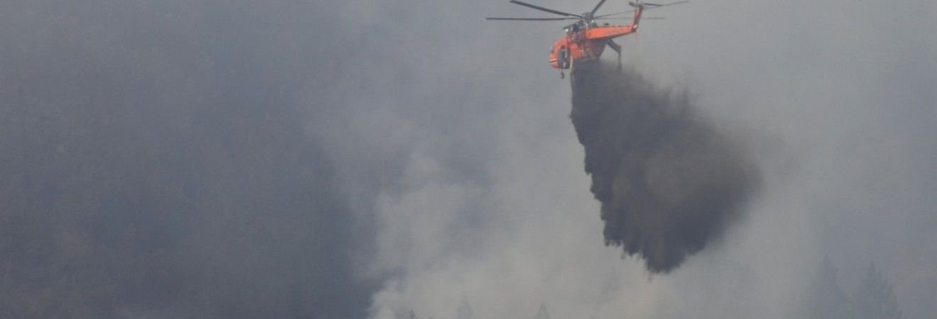 Ущерб от лесных пожаров в Калифорнии превысил $1 миллиард