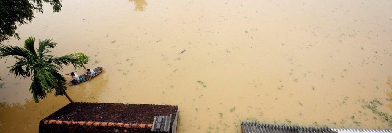 В результате наводнения в Таиланде пострадали 120 тысяч семей