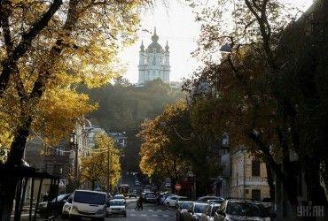 В Киеве сегодня температура до +22°, без осадков