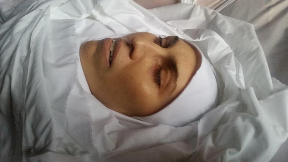 Окуеву убили под Киевом, сегодня ее похоронили / фото facebook.com/adamosmayev