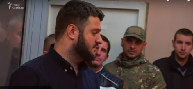 Snapshot from Radio Svoboda's YouTube video