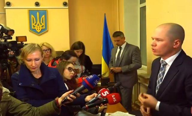 Сейчас идет судебное заседание об избрании меры пресечения Авакову-младшему / Скриншот видео Радио Свобода
