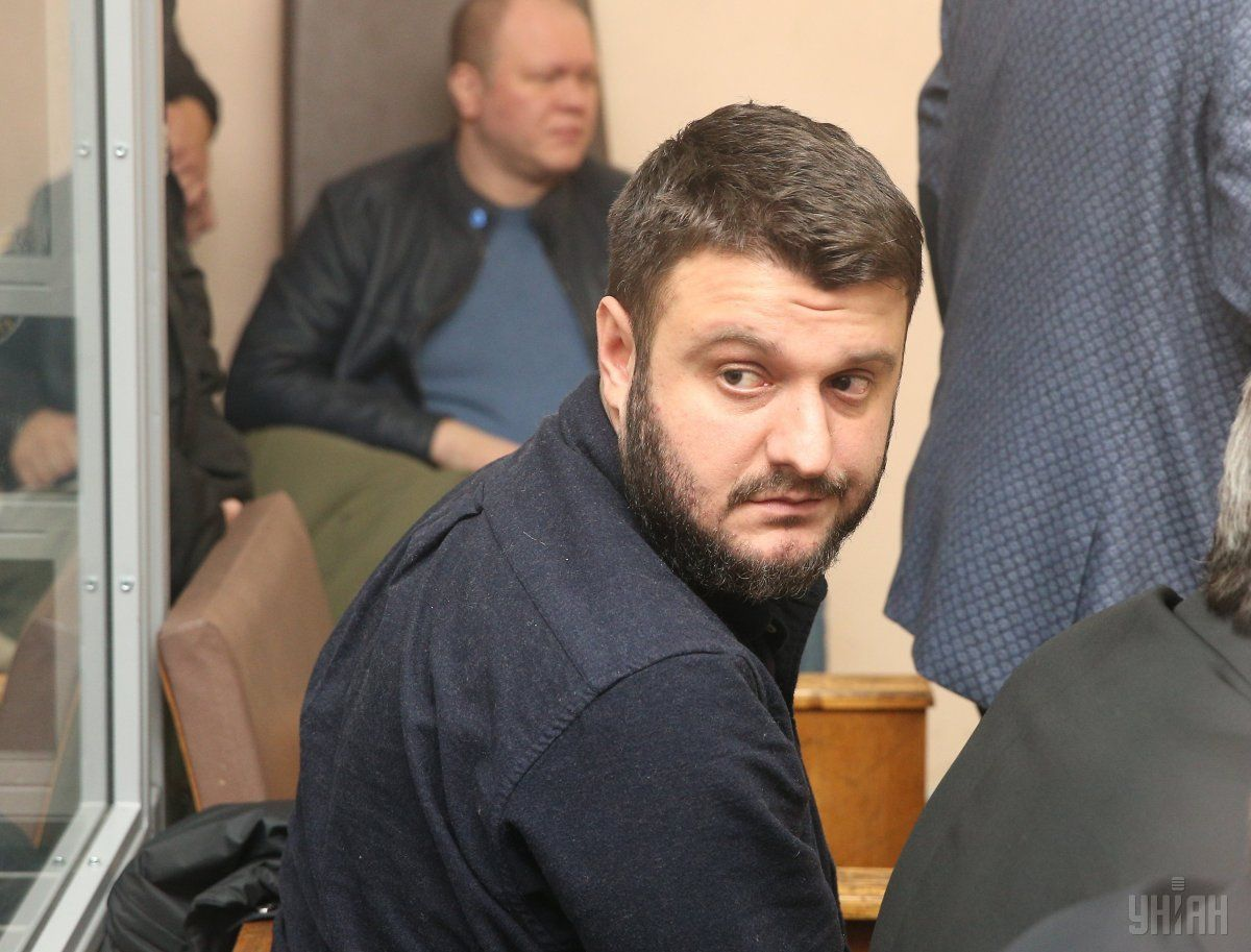 Аваков-младший сейчас ходит без браслета / фото УНИАН