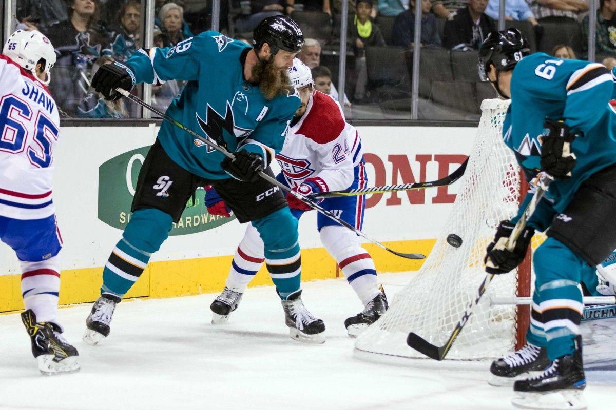 Торнтон стал 20-м игроков в истории НХЛ с 1400 очками  / Reuters