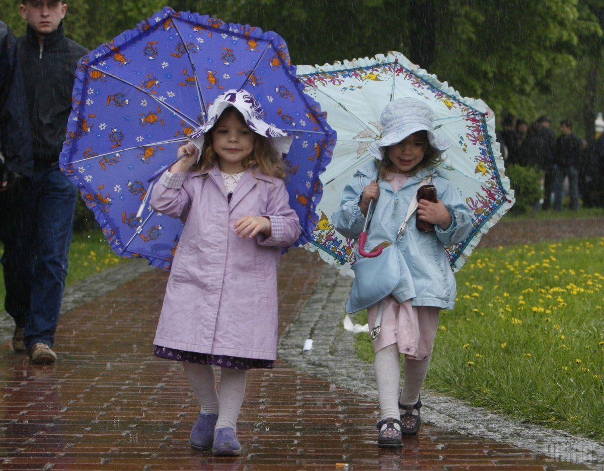 Сьогодні місцями очікуються дощі / УНІАН