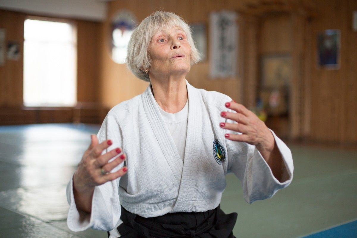 Нина убеджена, что боевые искусства нельзя сравнивать с айкидо / фото УНИАН