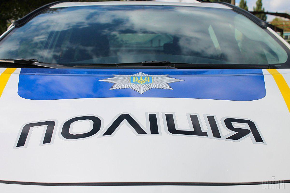Водитель и пассажиры автомобиля Лексус откровенно грубили полицейским / фото УНИАН