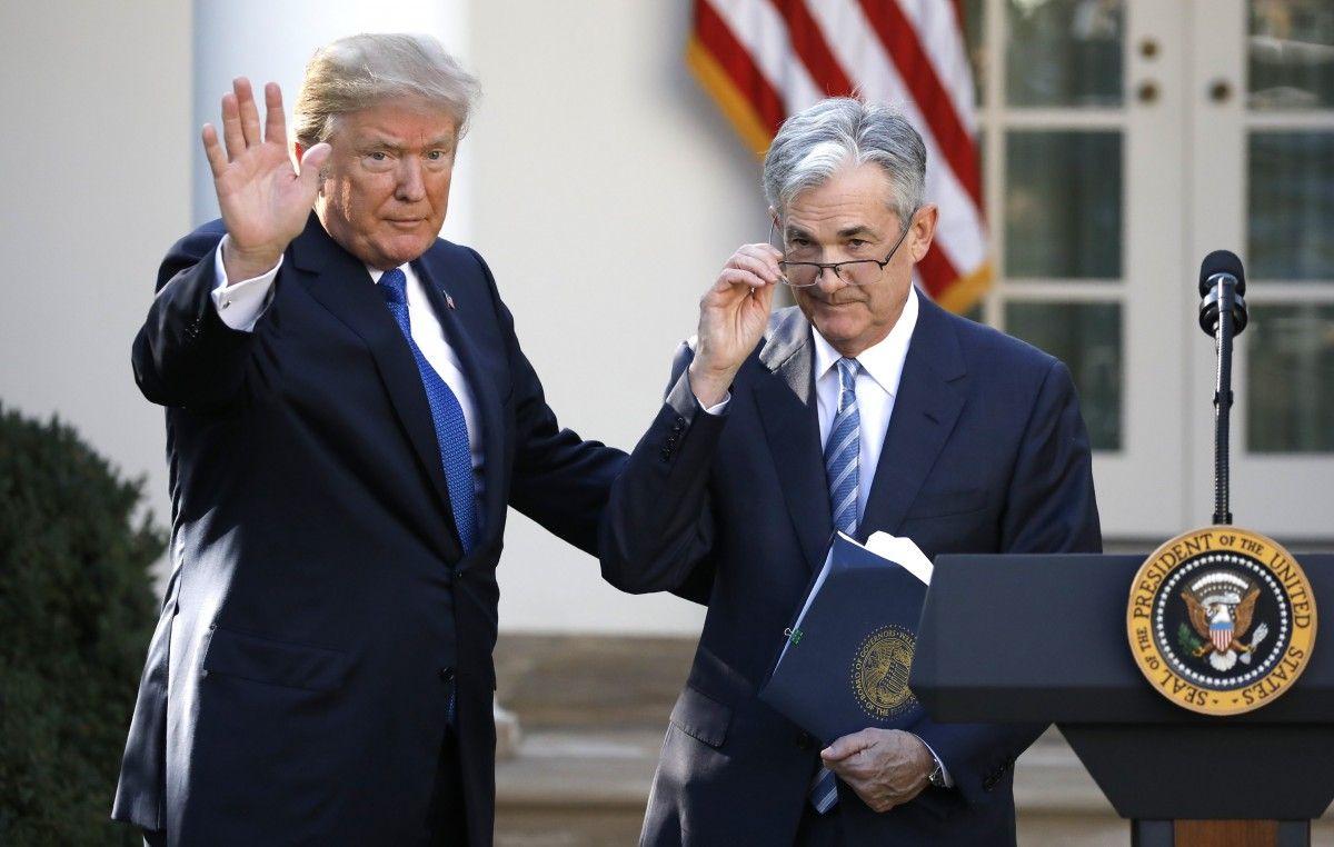 Дональд Трамп і Джером Пауелл / REUTERS