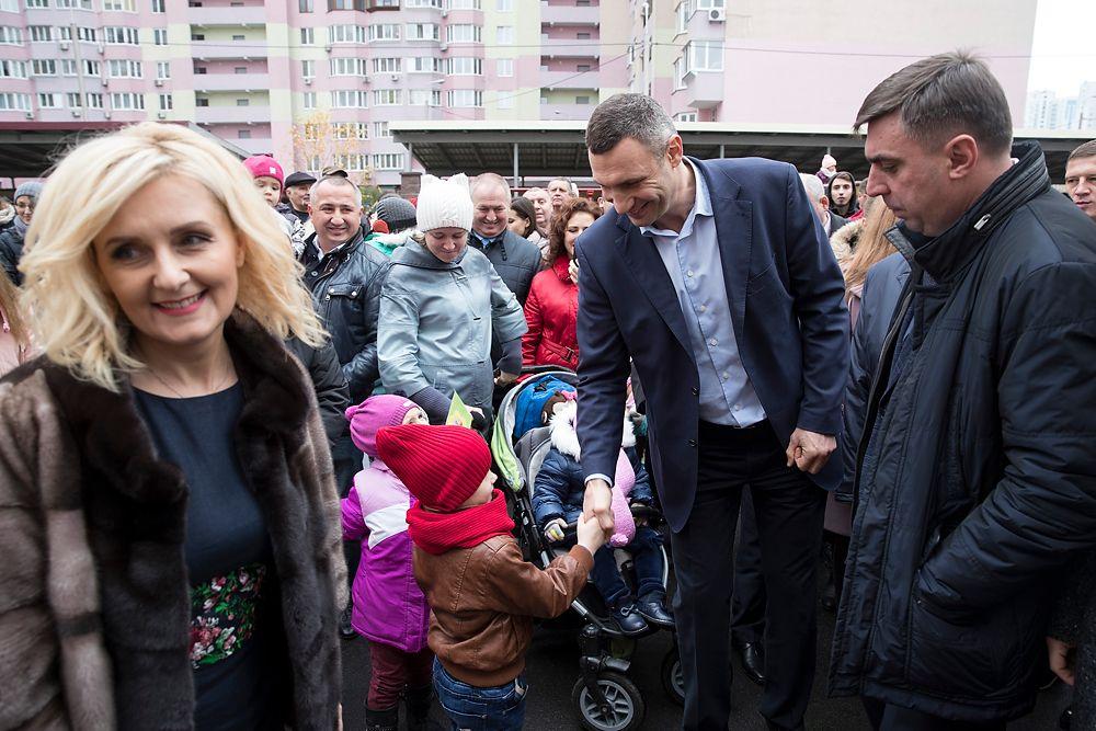 Стоимость работ по строительству сада – 71,5 млн гривен / фото kiev.klichko.org