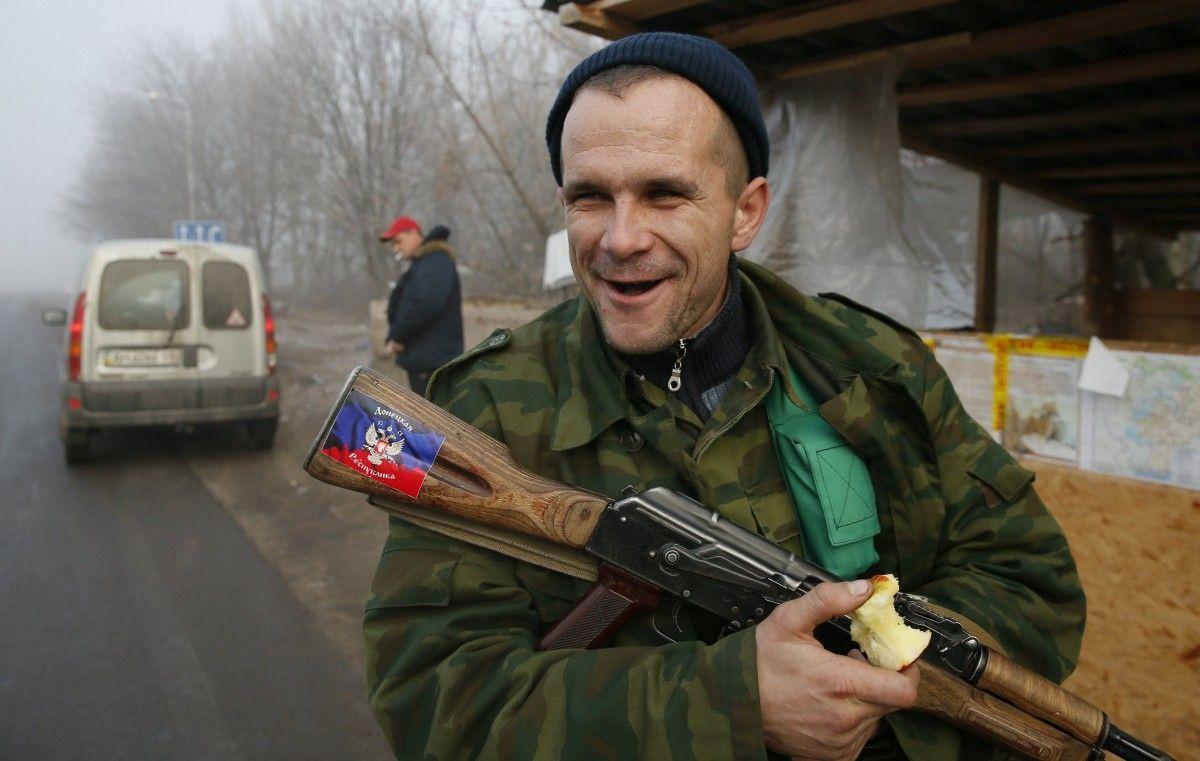 Сегодня боевики обстреляли позиции ВСУ - украинские военные неответили / REUTERS