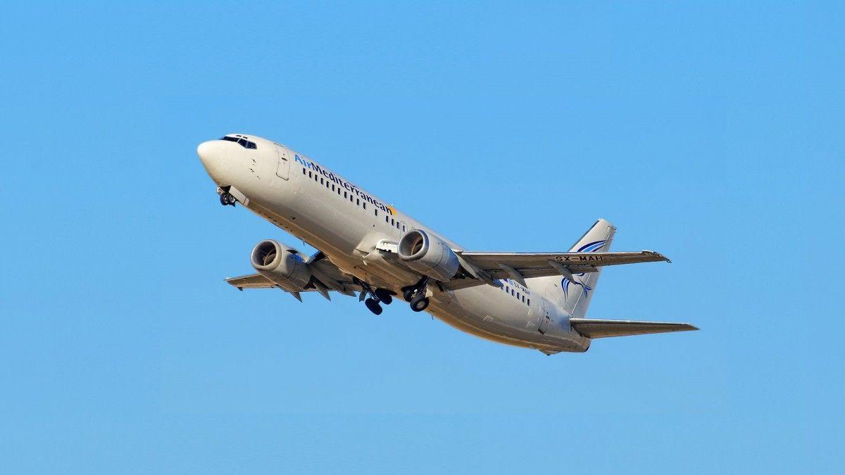 Прибуття і відправлення літаків - заборонено до 22 червня / фото air-mediterranean.com