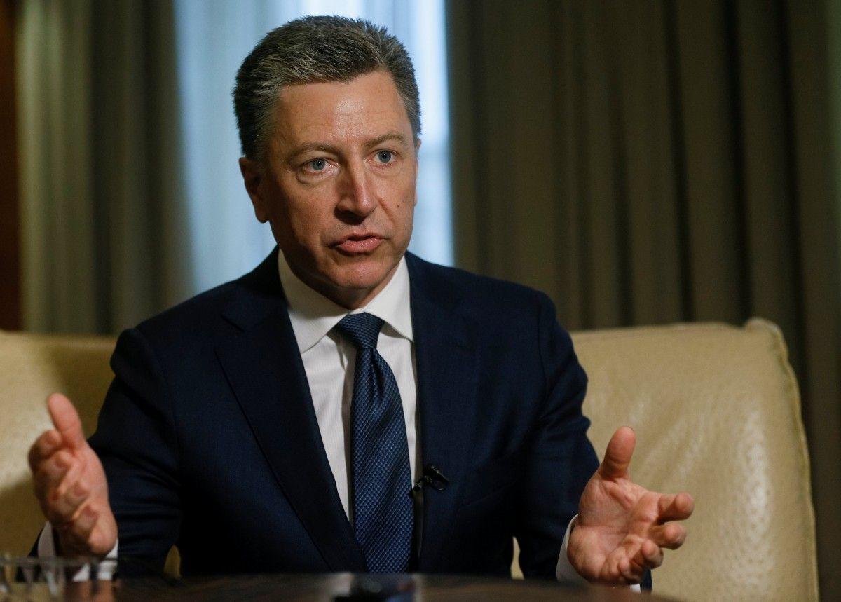 Спецпредставитель Госдепа США по делам Украины Курт Волкер / REUTERS