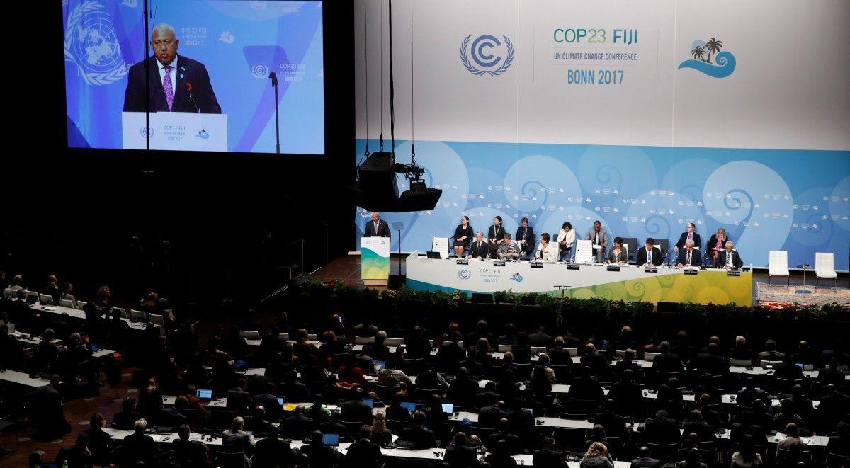 У Бонні делегати з усього світу розглядають проблеми клімату / Ілюстрація REUTERS