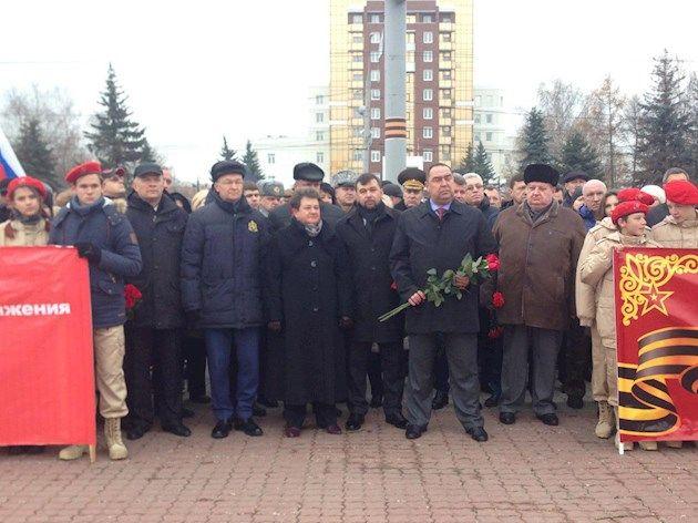 Главари террористов побывали в РФ / фото из сайта боевиков