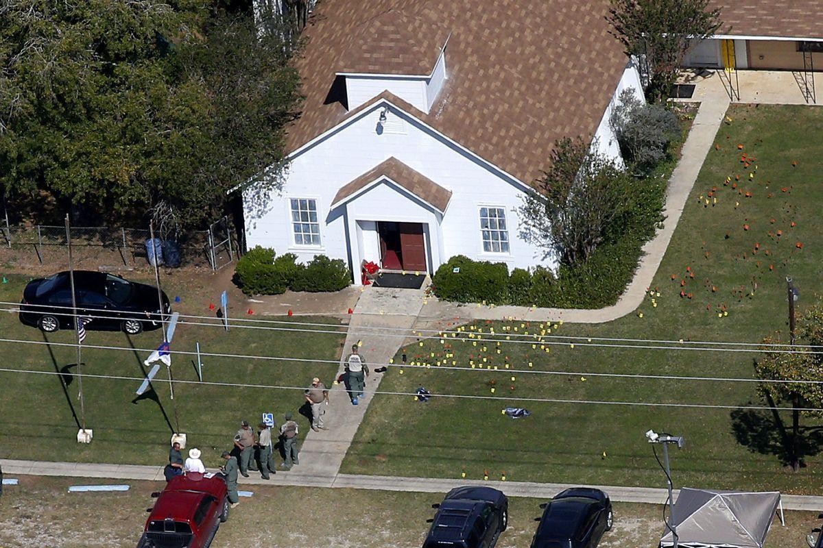 Перша Баптистська церква в Сазерленд Спрінгс / REUTERS