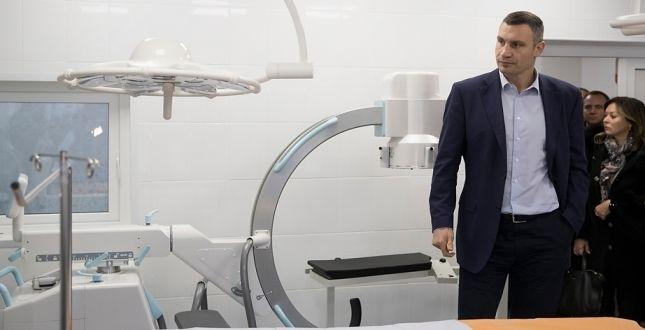 Кличко проинспектировал Киевскую городскую детскую клиническую больницу № 2, в которой было реконструировано приемное отделение и травмпункт / Фото kievcity.gov.ua