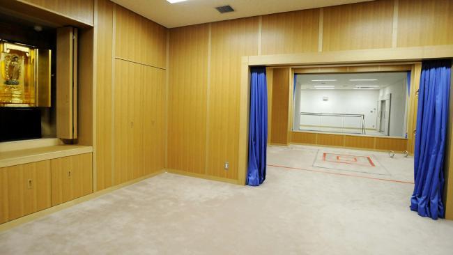 Помещение для казней в Японии / Фото news.com.au