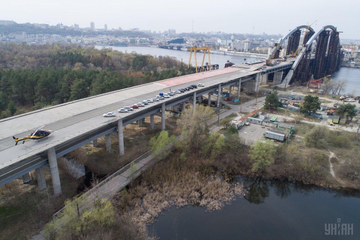 Чтобы достроить мост нужно 400 миллионов евро / фото УНИАН