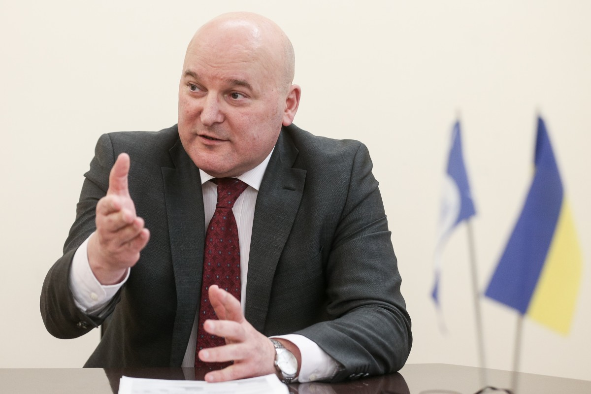 Начальник Департаменту Інтерполу та Європолу Василь Неволя / Фото УНІАН