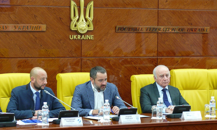 У Будинку футболу відбулося засідання робочої групи з реформування змагань / upl.ua