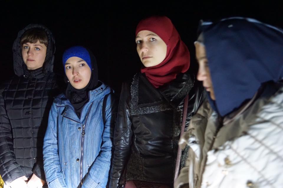Всіх утримуваних на админгранице жінок відпустили / Facebook