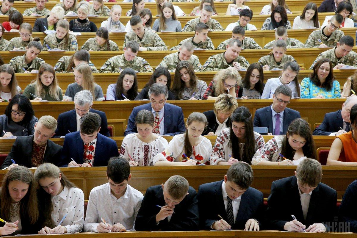 Приобщиться к Всеукраинскомудиктантумогут все желающие / УНИАН